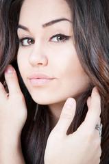 Beautiful girl with nice eyes