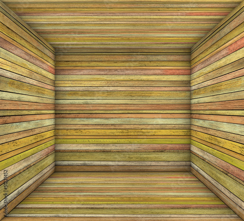 3d timber wood orange plank square empty space