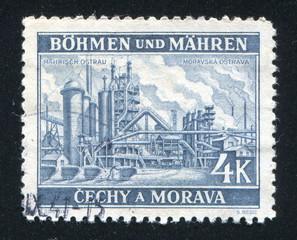 Factory at Moravska Ostrava