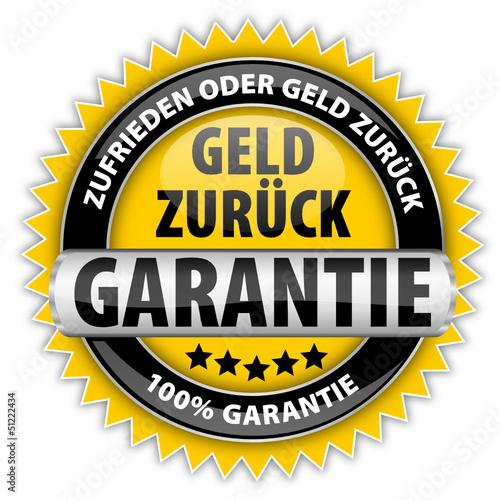 Geld zurück Garantie - 100% Garantie