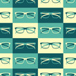 Retro Glasses Background