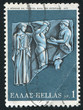 Capture of the golden apples of the Hesperides