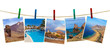 Tenerife island (Canary) photography on clothespins