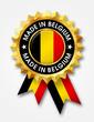 belgium badge