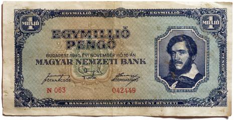 1 Million Pengo (front)
