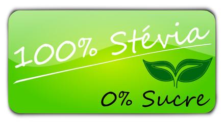 Bouton 100% Stévia