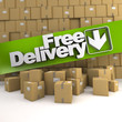 Free delivery, box wall