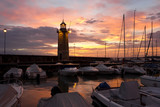 Desenzano del Garda Marina Old Lighthouse Sunrise