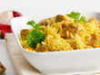 Traditional oriental pilaf