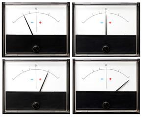 Meter indicator 4in1