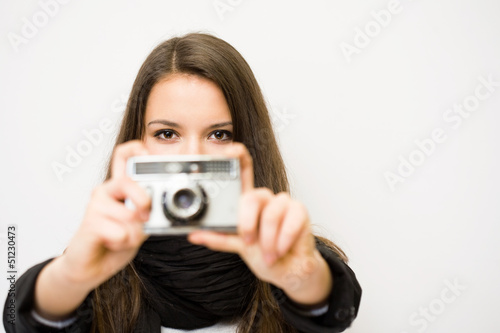 Young photographer.
