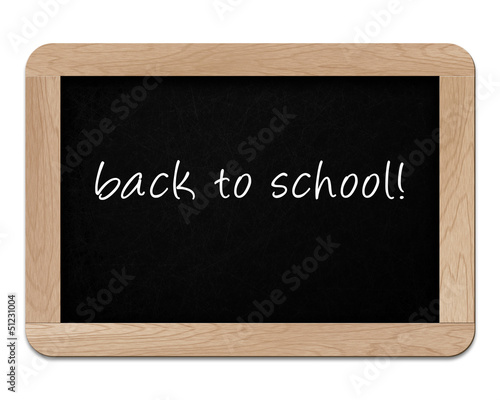 small wooden blackboard