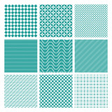 Monochrome seamless patterns