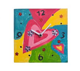 Clock hand made