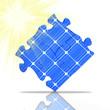 Solar Puzzle Sonne