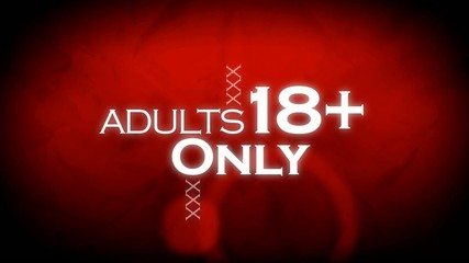 18+ Adults only show animation red xxx background