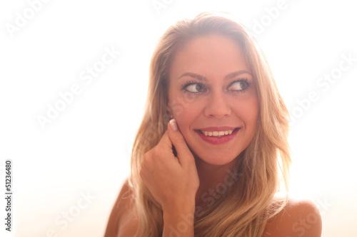 schöne junge Frau