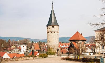 Mittelalterlicher Hexenturm in Bad Homburger Altstadt