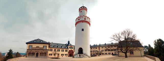 Bad Homburger Schloss mit Weißem Turm