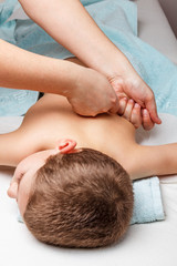 Children medical massage