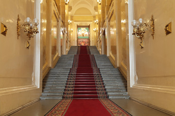 Moscow Great Kremlin Palace, stairs