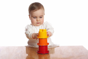 Baby play toy pyramid
