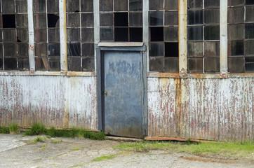 Lagerhalle - Eingang