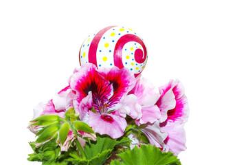 Easter symbol of life macro