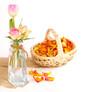 Blütenblätter sammeln
