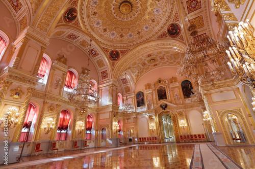 Zdjęcia na płótnie, fototapety, obrazy : Grand Kremlin Palace, St. Alexander hall