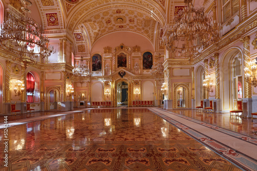 St. Alexander hall, Grand Kremlin Palace