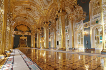 Grand Kremlin Palace. Throne hall