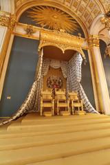 Throne. Grand Kremlin Palace interior