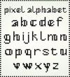 Pixel Alphabet, Lower Case letters