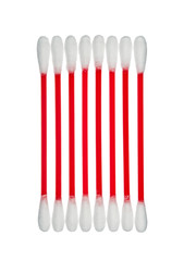 cotton sticks on a white background, isolated