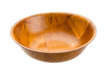 Oriental wood bowl