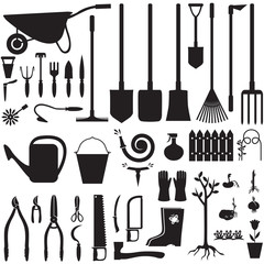Garden equipment set