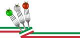 Nastrino e pomodori Italy