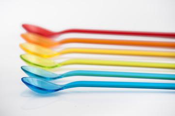 Posate multicolori