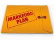 Confidential Marketing Plan Envelope Secret Strategy