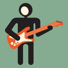 guitarist -  guitar player