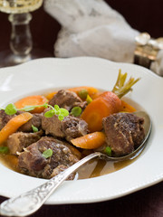 Game meat ragout