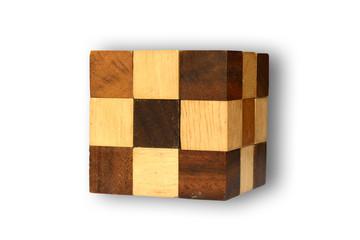 Wooden Cubic