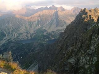 Panorama Tatr z Granatów