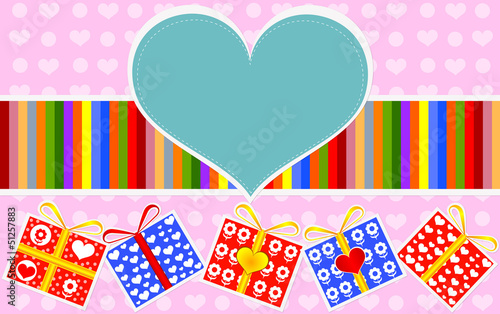 Valentine gifts card