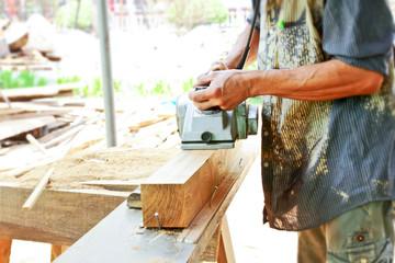 Carpentry working