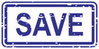 Save Rubber Stamp