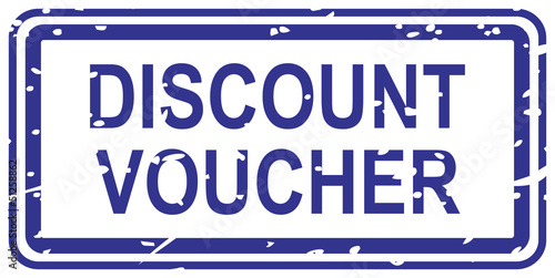 Discount VoucherRubber Stamp