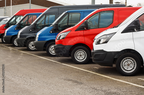 canvas print picture used van sales