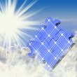 Solar Puzzle Wolken